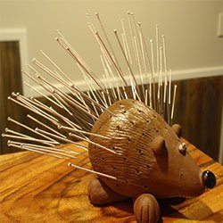 Fun with Acupuncture Needles